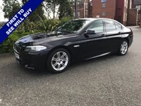 USED 2013 63 BMW 5 SERIES 2.0 520D M SPORT 4d 181 BHP