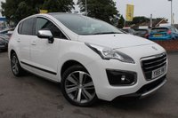 USED 2015 65 PEUGEOT 3008 1.6 BLUE HDI S/S ALLURE 5d 120 BHP 1 OWNER FROM NEW - TOP OF THE RANGE - FULLY REFURBISHED ALLOY WHEELS
