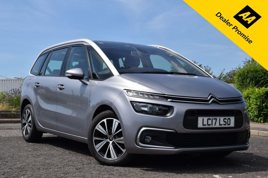 2017 Citroen C4 Grand Picasso Bluehdi Feel S/S Eat6 £13,678