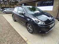 USED 2016 66 PEUGEOT 208 1.2 PURETECH ACTIVE DESIGN MENTHOL 5d 82 BHP * 1 KEEPER FROM NEW * FULL SERVICE HISTORY * 2 KEYS * DAB RADIO * £20 ROAD TAX *