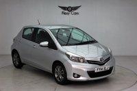 USED 2014 14 TOYOTA YARIS 1.3 VVT-I ICON PLUS 5d AUTO 99 BHP
