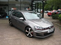 USED 2014 64 VOLKSWAGEN GOLF 2.0 GTI LAUNCH 3d 218 BHP