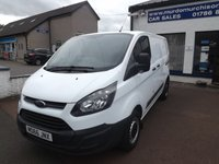 USED 2016 66 FORD TRANSIT CUSTOM 2.0 290 LR P/V 1d 104 BHP