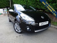 USED 2012 12 RENAULT CLIO 1.1 DYNAMIQUE TOMTOM 16V 3d 75 BHP