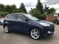 USED 2016 16 FORD KUGA 2.0 TDCi TITANIUM X SPORT 5d 180 BHP FULLY LOADED WITH FULL FORD HISTORY NO DEPOSIT ECP/PCP/HP FINANCE ARRANGED, APPLY HERE NOW