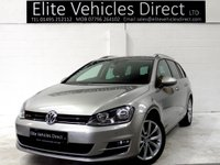 2014 VOLKSWAGEN GOLF 2.0 GT TDI BLUEMOTION TECHNOLOGY DSG 5d AUTO 148 BHP £8291.00