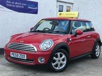 2009 MINI HATCH ONE 1.4 ONE 3d 94 BHP £3695.00