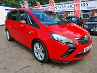 USED 2016 16 VAUXHALL ZAFIRA TOURER 2.0 SRI CDTI 5d AUTO 168 BHP 0%  FINANCE AVAILABLE ON THIS CAR PLEASE CALL 01204 393 181