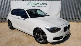 2012 BMW 1 SERIES 2.0 118D SPORT 5d 141 BHP £7490.00