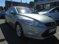 USED 2013 63 FORD MONDEO 2.0 TITANIUM X BUSINESS EDITION TDCI 5d AUTO 161 BHP MOT UNTIL NOVEMBER 2019!