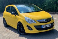 2012 VAUXHALL CORSA 1.2 LIMITED EDITION 5d 83 BHP £SOLD