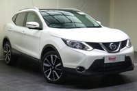 "USED 2015 15 NISSAN QASHQAI 1.6 DCI TEKNA 5d AUTO 128 BHP 19""ALLOYS+LEATHER+PARK SENSORS+NAV+PAN ROOF+PRIV GLASS+CRUISE CONTROL"