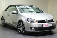 """USED 2014 14 VOLKSWAGEN GOLF 2.0 GT TDI BLUEMOTION TECHNOLOGY DSG 2d AUTO 139 BHP 18""""ALLOYS+NAV+LEATHER+PARKING SENSORS+HEATED FRONT SEATS+CLIMATE CONTROL"""