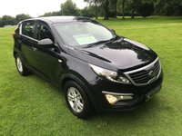 USED 2011 61 KIA SPORTAGE 1.7 CRDI 1 5d 114 BHP **EXCELLENT FINANCE PACKAGES**STAMPED SERVICE HISTORY**BLUETOOTH**