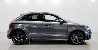 2015 AUDI A1 1.4 SPORTBACK TFSI BLACK EDITION 5d AUTO 138 BHP £10950.00