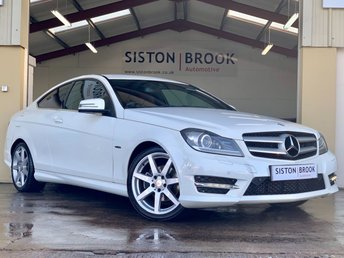 2011 MERCEDES-BENZ C CLASS 1.8 C180 BLUEEFFICIENCY AMG SPORT EDITION 125 2d AUTO 156 BHP £8999.00