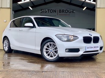 2014 BMW 1 SERIES 1.6 116D EFFICIENTDYNAMICS 5d 114 BHP £6999.00