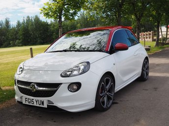 2015 VAUXHALL ADAM 1.4 GRAND SLAM S/S 3d 148 BHP £8250.00