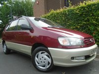 USED 1998 TOYOTA PICNIC 2.0 GL 5d AUTOMATIC 126 BHP GUARANTEED TO BEAT ANY 'WE BUY ANY CAR' VALUATION ON YOUR PART EXCHANGE