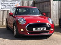 USED 2014 14 MINI HATCH COOPER 1.5 3d 134 BHP 0% FINANCE AVAILABLE!!