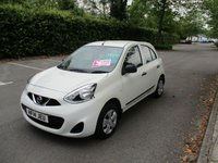 USED 2014 14 NISSAN MICRA 1.2 VISIA 5d AUTO 79 BHP WAS £7,295 NOW ONLY £6,795 !!