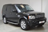 USED 2011 11 LAND ROVER DISCOVERY 4 3.0 4 SDV6 XS 5d AUTO 245 BHP FULL HISTORY + 7 SEATS + NAV + LEATHER + PRIVACY GLASS + SIDE STEPS