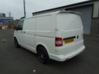 USED 2012 J VOLKSWAGEN TRANSPORTER 2.0 T28 TDI 1d 84 BHP ALLOYS BOOT SPOILER SIDE STEPS NO VAT