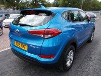 USED 2016 16 HYUNDAI TUCSON 1.6 GDI S BLUE DRIVE 5d 130 BHP ESTATE