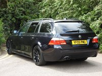 USED 2005 05 BMW 5 SERIES 3.0 530D SPORT TOURING 5d AUTO 215 BHP FULL LEATHER A/C FSH M SPORT
