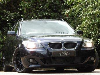 2005 BMW 5 SERIES 3.0 530D SPORT TOURING 5d AUTO 215 BHP £2990.00