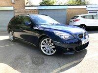 2009 BMW 5 SERIES 3.0 525D M SPORT BUSINESS EDITION TOURING 5d ESTATE, SAT NAV £7690.00