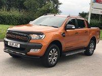 USED 2018 18 FORD RANGER 3.2 WILDTRAK 4X4 DCB TDCI 1d AUTO 197 BHP