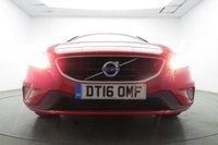 USED 2016 16 VOLVO V40 2.0 T2 R-DESIGN 5d 120 BHP Leather/Suede Interior- AUX
