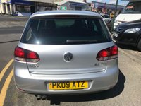 USED 2009 09 VOLKSWAGEN GOLF 2.0 GT TDI 5d 138 BHP 12 MONTHS COMPREHENSIVE PARTS AND LABOUR WARRANTY AND 12 MONTHS BREAKDOWN COVER AT SCREEN PRICE