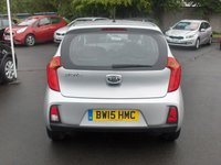 USED 2015 15 KIA PICANTO 1.0 1 AIR 5d 68 BHP BALANCE OF MANUFACTURERS SEVEN YEAR WARRANTY