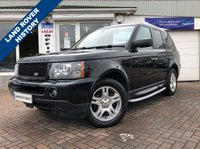 USED 2006 06 LAND ROVER RANGE ROVER SPORT 2.7 TDV6 SE 5d AUTO 188 BHP SUPPLIED WITH 12 MONTHS MOT, LOVELY 4X4 TO DRIVE