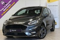 USED 2018 18 FORD FIESTA 1.0 ST-LINE 3d 138 BHP SAT NAV, CRUISE CONTROL, PARKING SENSORS, MEDIA CONNECTIVITY, EXCLUSIVE PAINT FINISH
