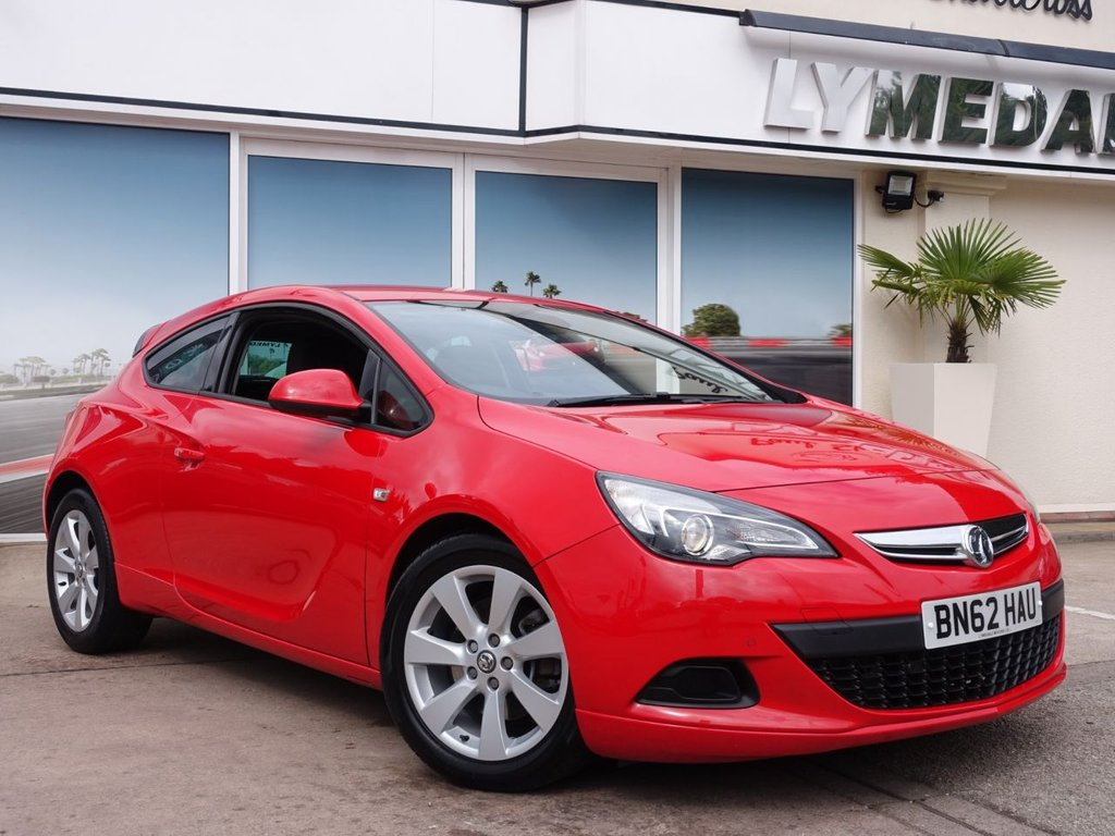 USED 2013 62 VAUXHALL ASTRA 1.4 GTC SPORT S/S 3d 138 BHP