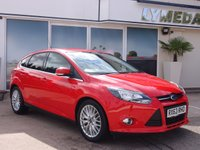 USED 2013 63 FORD FOCUS 1.0 ZETEC 5d 124 BHP