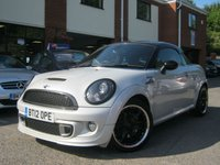 USED 2012 12 MINI COUPE 1.6 COOPER S 2d 181 BHP