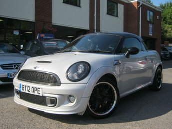 2012 MINI COUPE 1.6 COOPER S 2d 181 BHP £6995.00