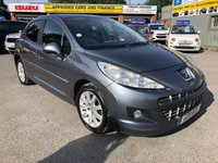 2011 PEUGEOT 207 1.6 HDI SPORTIUM 5d 92 BHP WITH 107000 MILES, 3 OWNERS AND PART SERVICE HISTORY (TRADE CLEARANCE) £1999.00