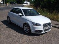 USED 2012 62 AUDI A1 1.2 TFSI Sport Petrol 3 door £30 tax Bluetooth Pearl white