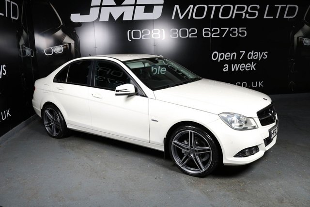 2011 MERCEDES-BENZ C CLASS C220 CDI BLUEEFFICIENCY SE EDITION 125 AUTO 170 BHP (FINANCE AND WARRANTY)