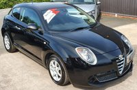 USED 2015 65 ALFA ROMEO MITO 0.9 TWINAIR PROGRESSION 3d 105 BHP 1 Owner from New - 3 Services - NIL Road Tax