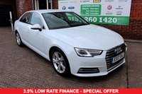 USED 2017 17 AUDI A4 2.0 TDI ULTRA SPORT 4d 188 BHP +ONE OWNER +LOW TAX +FSH.