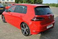 USED 2016 16 VOLKSWAGEN GOLF 2.0 TSI BlueMotion Tech R 4MOTION (s/s) 5dr TORNADO RED 5 DOOR 300TSI R