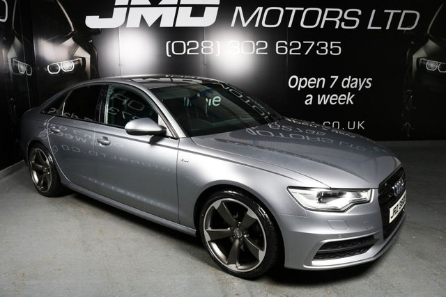 2012 AUDI A6 2.0 TDI S LINE BLACK EDITION STYLE AUTO 175 BHP (FINANCE AND WARRANTY)