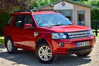 USED 2014 63 LAND ROVER FREELANDER 2.2 TD4 XS 5d 150 BHP FSH, NAV, TOWBAR, HEATED SEAT & STEERING WHEEL, DAB, B'TOOTH