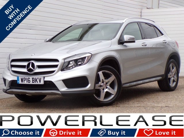 USED 2016 16 MERCEDES-BENZ GLA-CLASS 2.1 GLA 200 D AMG LINE 5d 134 BHP 20POUNDTAX REAR CAMERA B/TOOTH